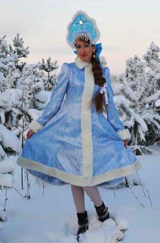 готовый результат платье снегурочки