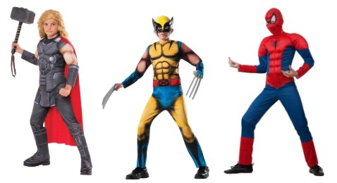 Тор, Росомаха, Человек-паук