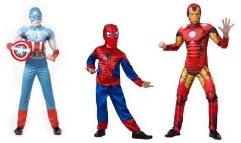 Капитан Америка, маленький Человек-паук, Железный человек