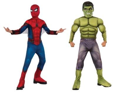 Человек-паук с крыльями и Халк