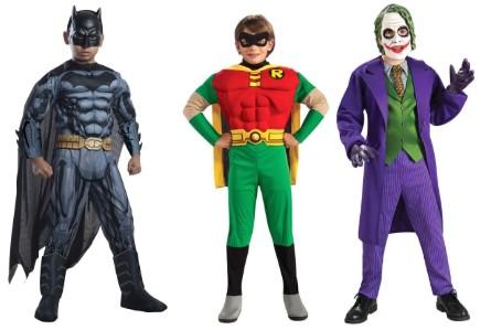 Бэтмен, Робин и Джокер