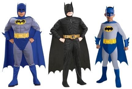 2 синих Бэтмена и один черный