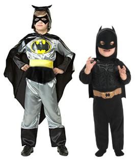 2 Бэтмена: черно-серый и в черном