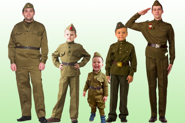 Купить военную форму солдата ВОВ