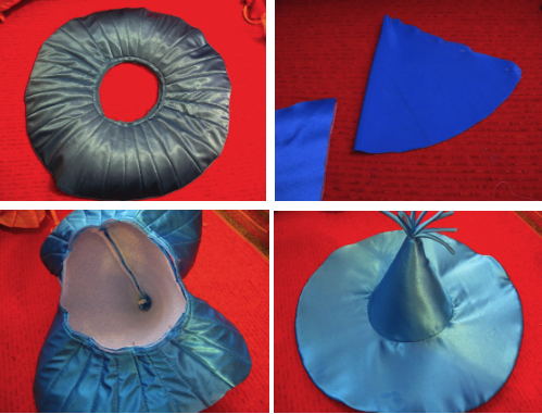 Изготовление шляпы для костюма Незнайки
