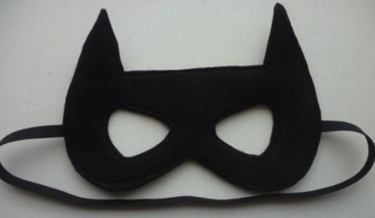 маска летучей мыши на резинке