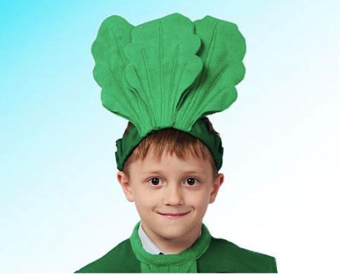 головной убор для костюма свеклы