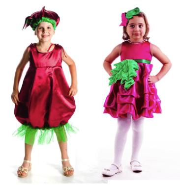 костюм свеклы для девочки на праздник урожая