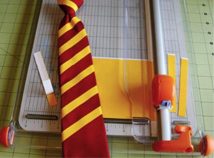 как сделать гриффиндорский галстук