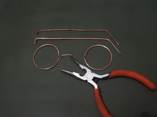как сделать очки гарри поттера из проволоки