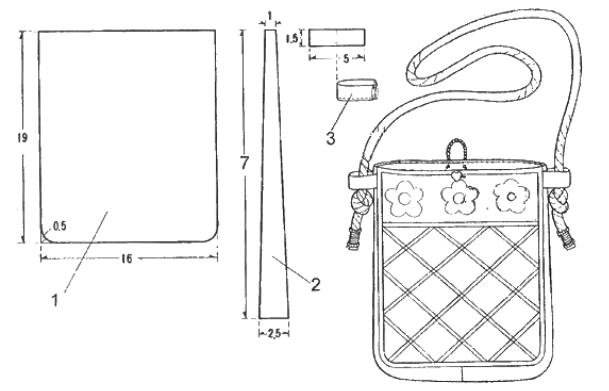 как сделать сумочку