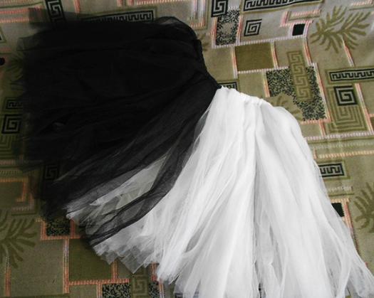 юбка их тафты