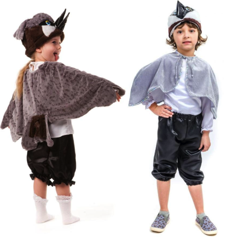 костюм воробья для малышей
