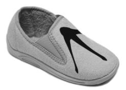 лапки воробья на обувь