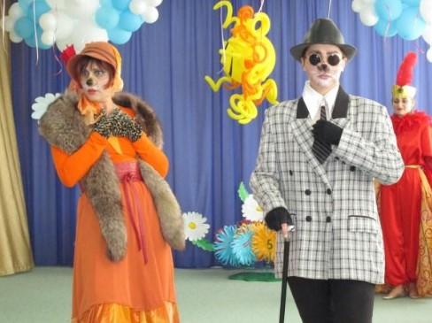 Костюмы Лисы Алисы и Кота Базилио на взрослых для праздника