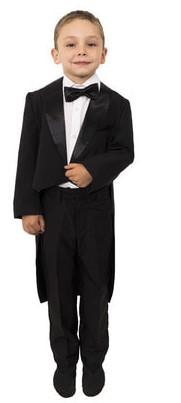 Фрак детский черный для выпускного в детском саду