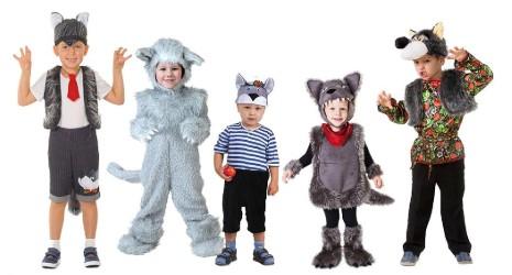 5 волков в полный рост