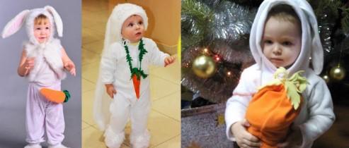 3 зайца с морковками