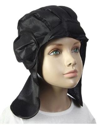 Шлем Танкист (черный) детский s1761969 купить в интернет-магазине - My-Karnaval.ru, доставка по России и выгодные цены
