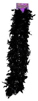 Фото Боа карнавальное (черное)