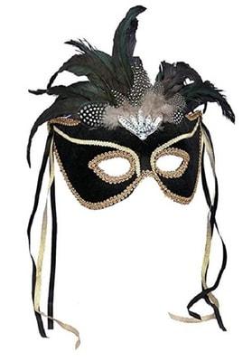 Фото Маска карнавальная (черная)