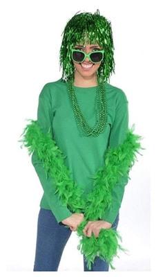 Фото Боа карнавальное (зеленое)