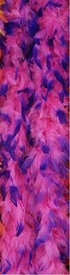 Фото Боа карнавальное (розово-синее)
