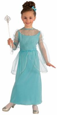 Фото Костюм Сказочная принцесса в платье детский