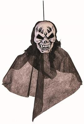 Фото Декорация подвесная голова Скелета