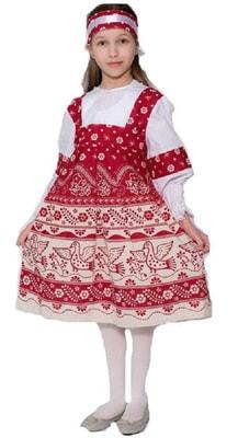 Фото Костюм русский Купонный детский