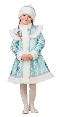 Фото Костюм Снегурочка снежинка (бирюзовая) детский