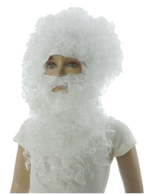 Парик и борода Дед Мороза Люкс s1110743 купить в интернет-магазине - My-Karnaval.ru, доставка по России и выгодные цены
