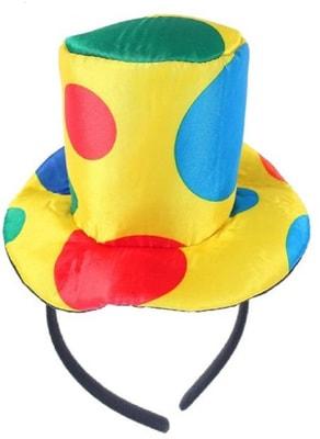 Фото Шляпа-ободок Клоун детский