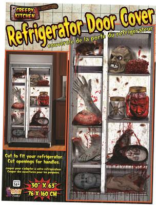 Фото Декорация для холодильника Зомби кухня