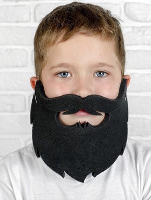 Фото Борода черная поролон