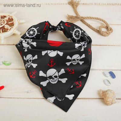 Бандана Крутой пират s1528158 купить в интернет-магазине - My-Karnaval.ru, доставка по России и выгодные цены