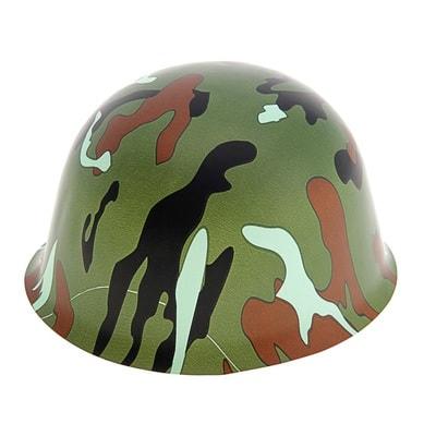 Каска камуфляж цвет хаки s327251 купить в интернет-магазине - My-Karnaval.ru, доставка по России и выгодные цены