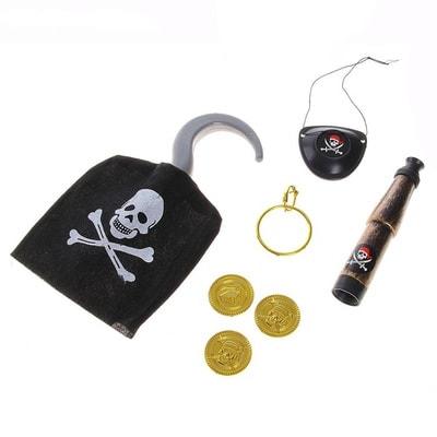 Фото Набор пирата 7 предметов