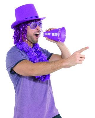 Фото Набор черлидерши фиолетовый
