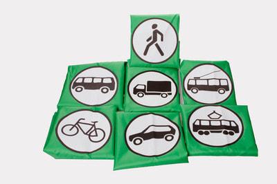 Фото Жилет участник дорожного движения троллейбус