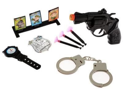 Фото Набор полицейского Тир 8 предметов