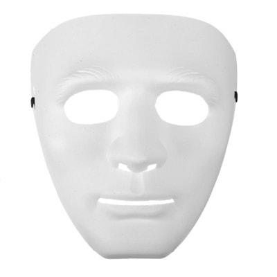 Фото Карнавальная маска Лицо белая