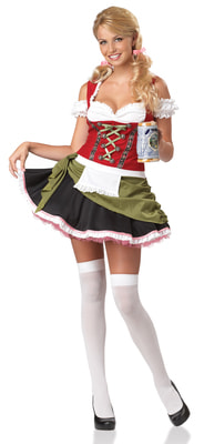 Фото Костюм Баварская красавица взрослый