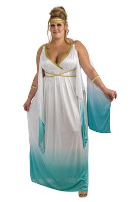 Фото Костюм Богиня Афродита (Большой размер) взрослый