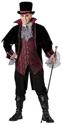 Фото Костюм Вампир из Версаля (большой размер) взрослый