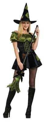 Фото Костюм Зеленая ведьмочка взрослый