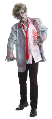 Фото Костюм Зомби в пиджаке взрослый