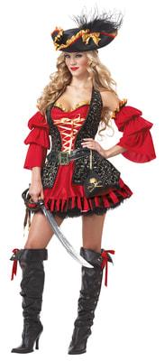Фото Костюм Испанская Пиратка взрослый
