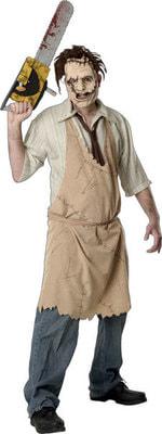 Фото Костюм Кожаное лицо (Техасская резня бензопилой) взрослый