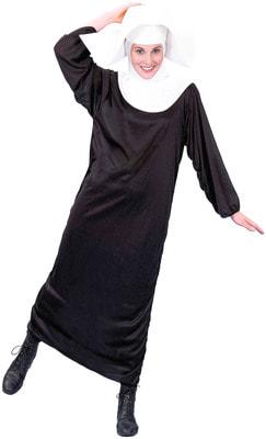 Фото Костюм Озорная монахиня взрослый